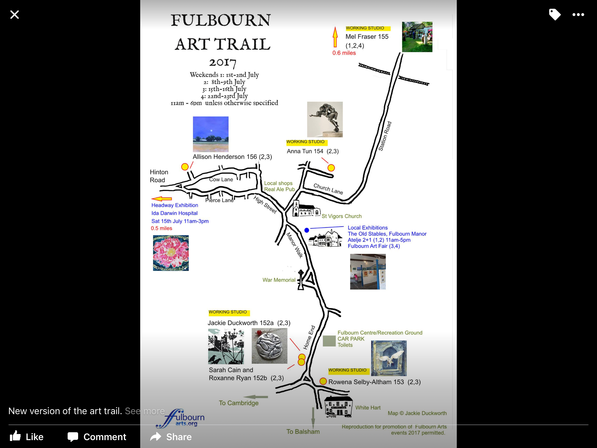 Fulbourn Art Trail